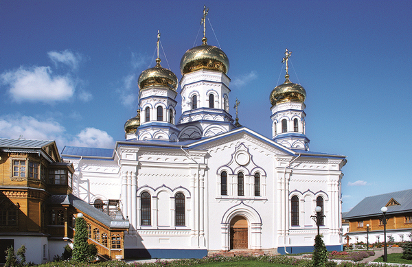 Цивильск. Тихвинский женский монастырь