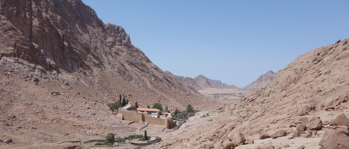 Монастырь святой Екатерины. Синай