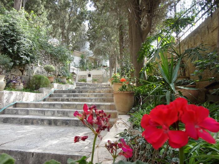 Монастырь святой Марии Магдалины в Гефсимании. Иерусалим