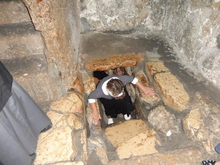 Вифания. Гробница Лазаря Четверодневного в современном селении Эль Азария