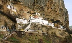 Бахчисарайский Успенский монастырь. Крым