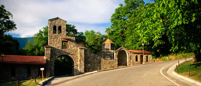 Монастырь Некреси. Грузия