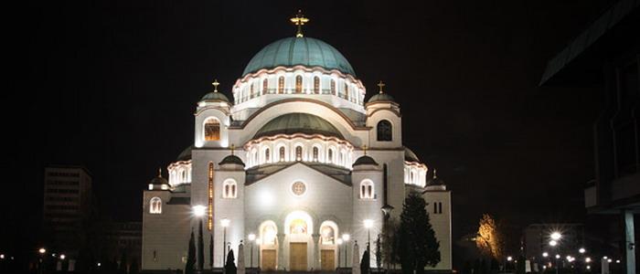 Храм святого Саввы. Белград. Сербия