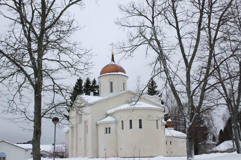 Спасо-Преображенский собор. Новый Валаам. Финляндия