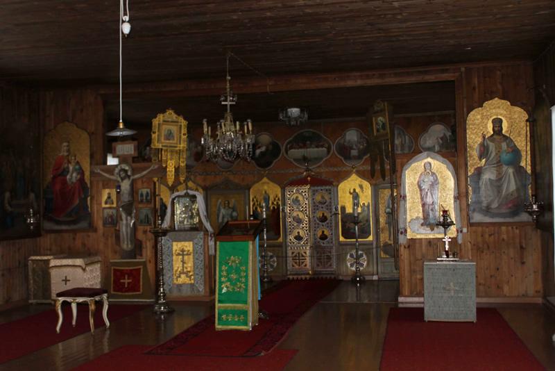Храм всех Святых, на Валааме просиявших. Внутреннее убранство