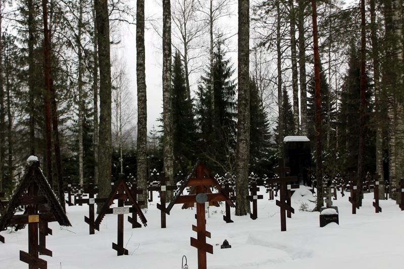 Кладбище Ново-Валаамского монастыря