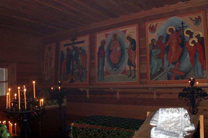 Часовня прп. Германа Аляскинского. Кладбище Ново-Валаамского монастыря