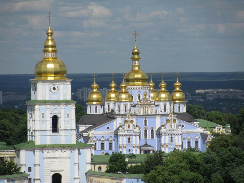 Златоверхий Михайловский монастырь. Киев