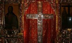 Крест в монастыре Ставровуни. Кипр