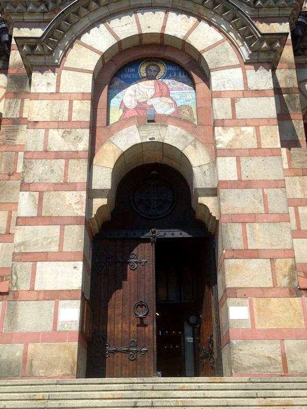 Церковь Святого Марка. Белград. Сербия