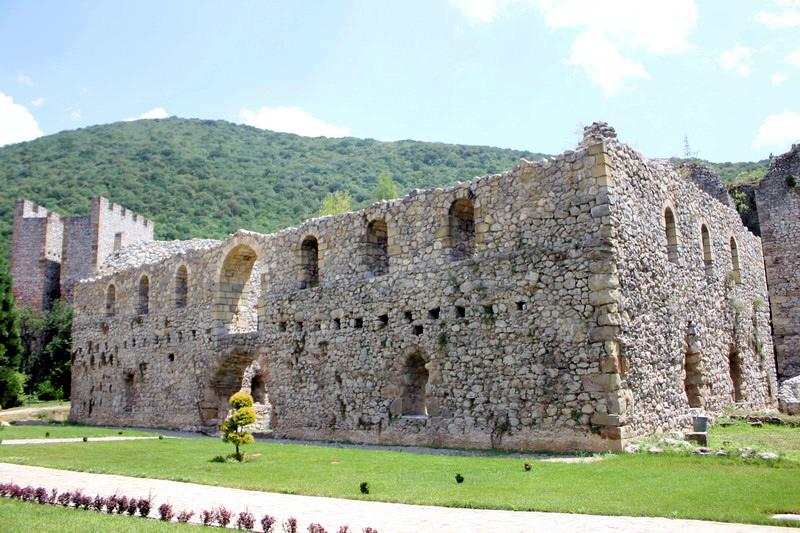 Монастырь Манасия. Сербия
