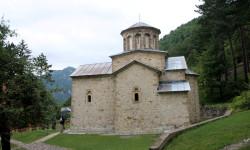 Монастырь Святой Троицы. Овчаро-Кабларское ущелье. Сербия