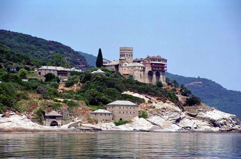 Монастырь Ставроникита. Афон