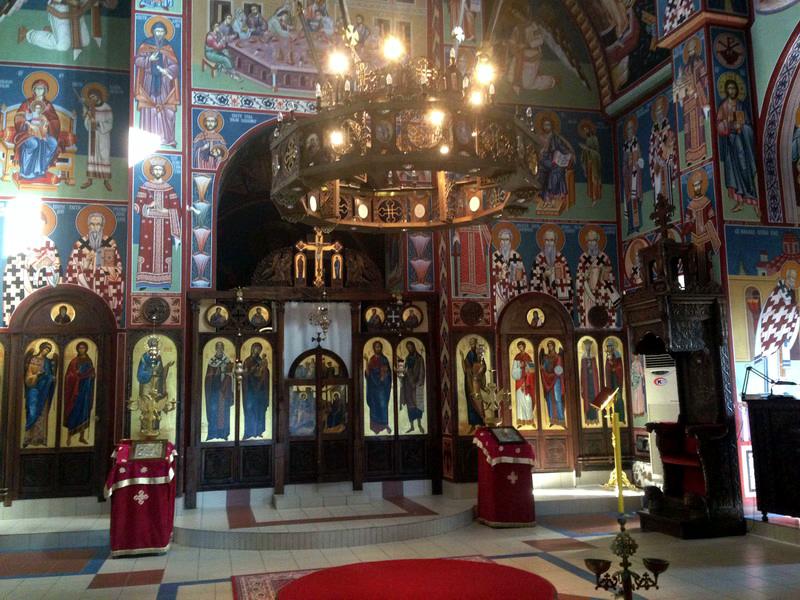 Церковь Святителя Николая. Ниш. Сербия