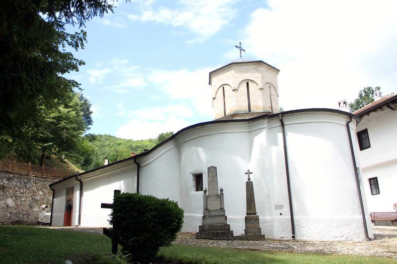 Монастырь. Сербия