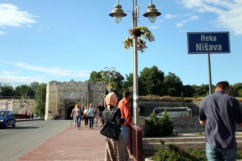 Нишская крепость. Сербия