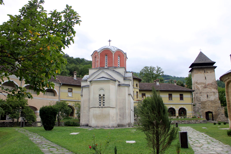 Церковь Иоакима и Анны. Монастырь Студеница. Сербия