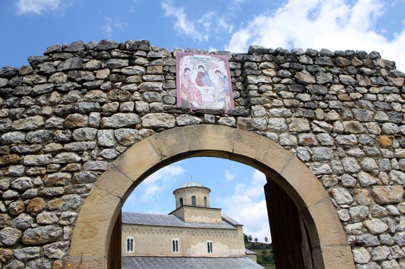 Монастырь Сопочани. Сербия