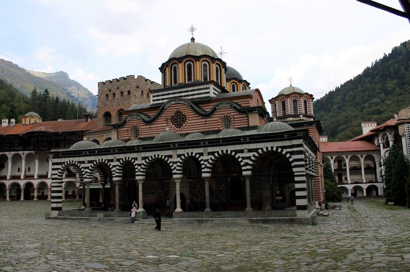 Монастырь Иоанна Рыльского. Болгария