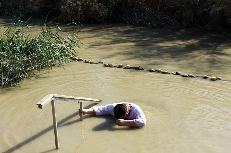 На месте, где только недавно воды этой неширокой реки омывали ноги Спасителя - Чувашская Митрополия Паломнический отдел