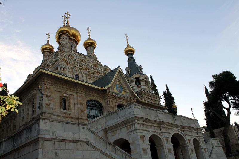 Монастырь Марии Магдалины в Гефсимании. Иерусалим