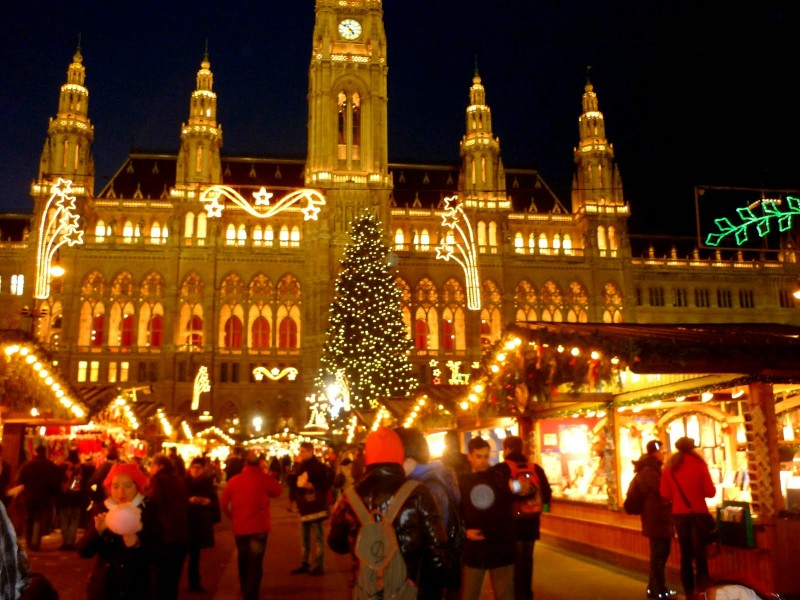 Австрия. Рождество