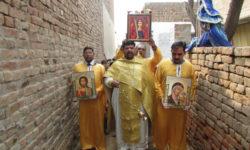 Крестный ход. Православная миссия в Пакистане