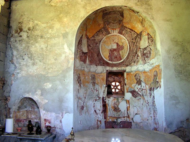 Монастырь Камарела. Корфу