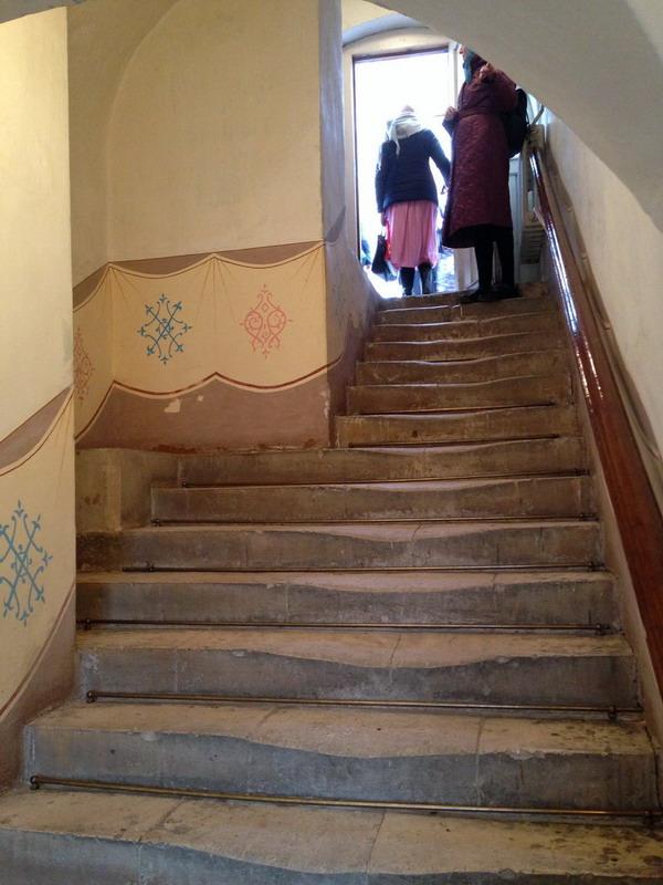 Лестница в келью Патриарха
