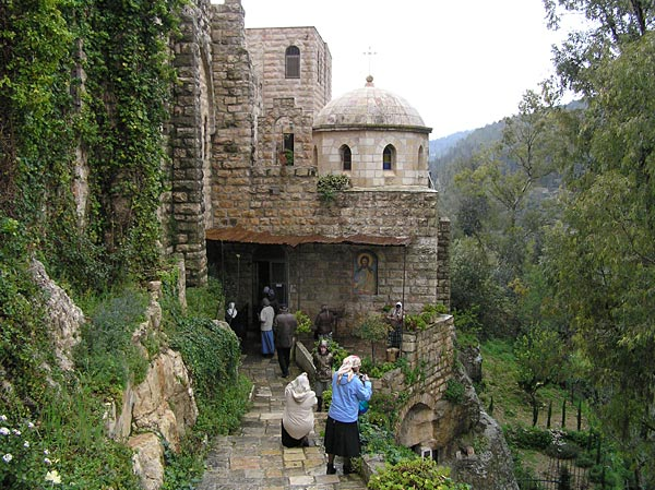 Монастырь в память Рождества Иоанна Предтечи. Эйн Карем.