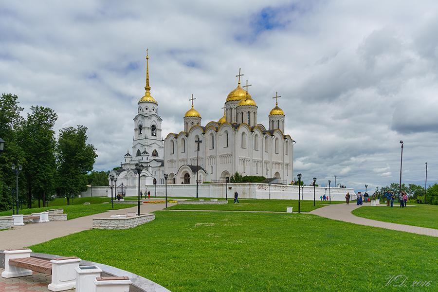 Успенский собор во Владимире - Чувашская Митрополия Паломнический отдел