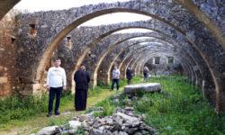 Монастырь святого Георгия в Кариди. Остров Крит