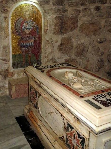 Гробница Георгия Победоносца в Лидде