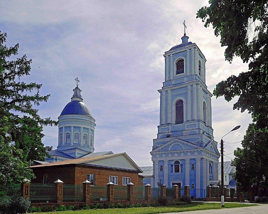 Свято-Троицкий собор г.Ядрин