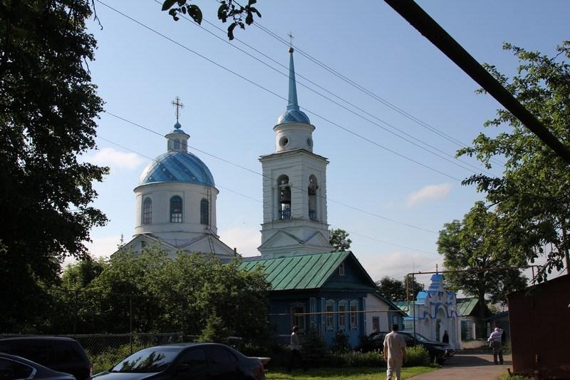 Храм в честь иконы Божией Матери Владимирская с. Малое Чурашево