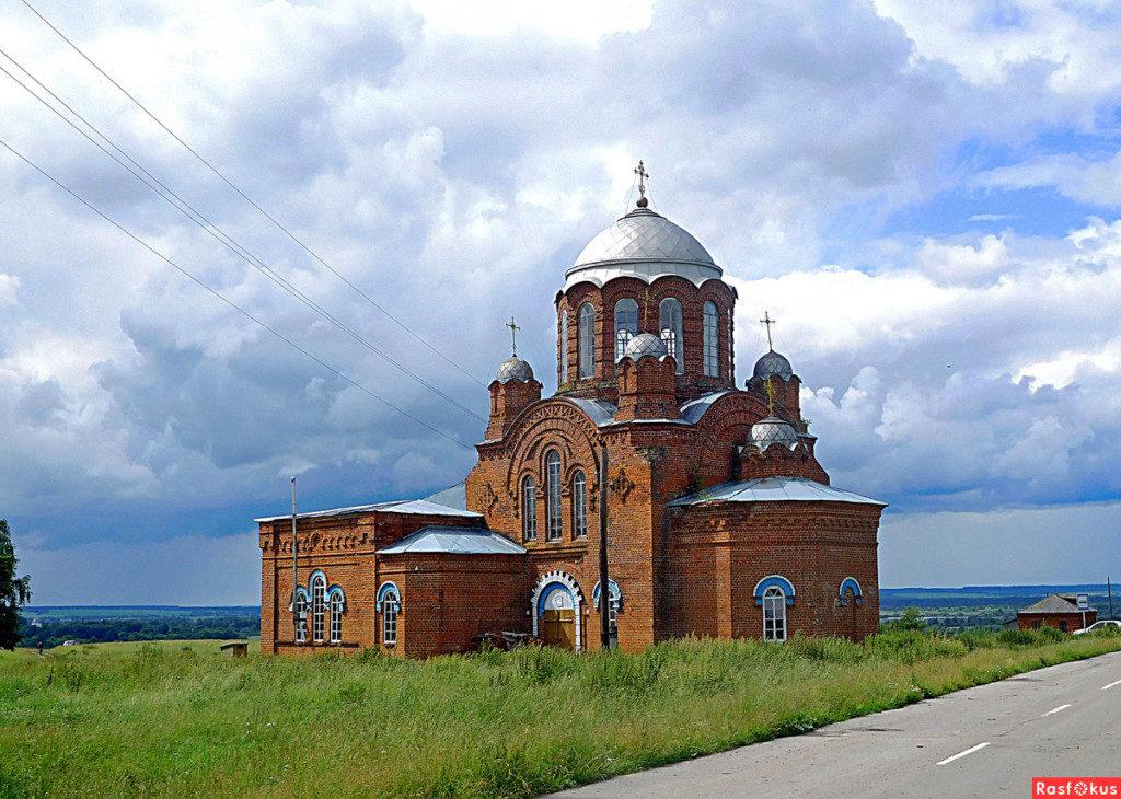 Храм пророка Божия Илии с. Ильина гора